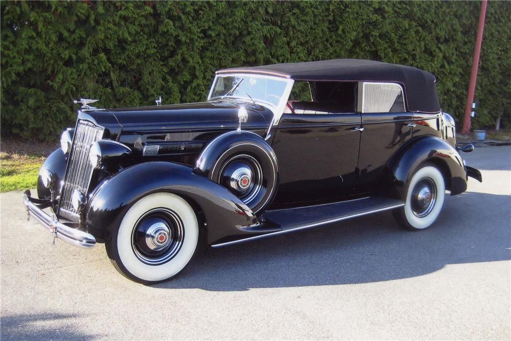 1936 PACKARD 120 PHAETON - Side Profile - 117332