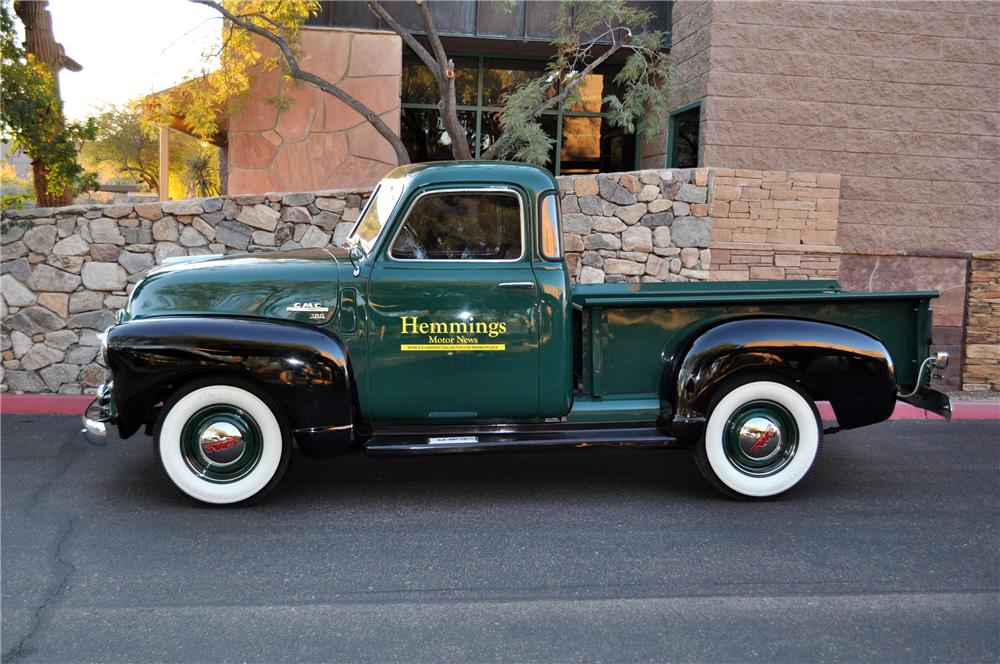 1950 GMC PICKUP - Side Profile - 117339