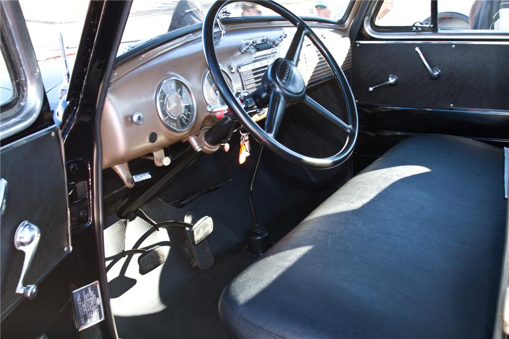1950 CHEVROLET PICKUP - Interior - 117341