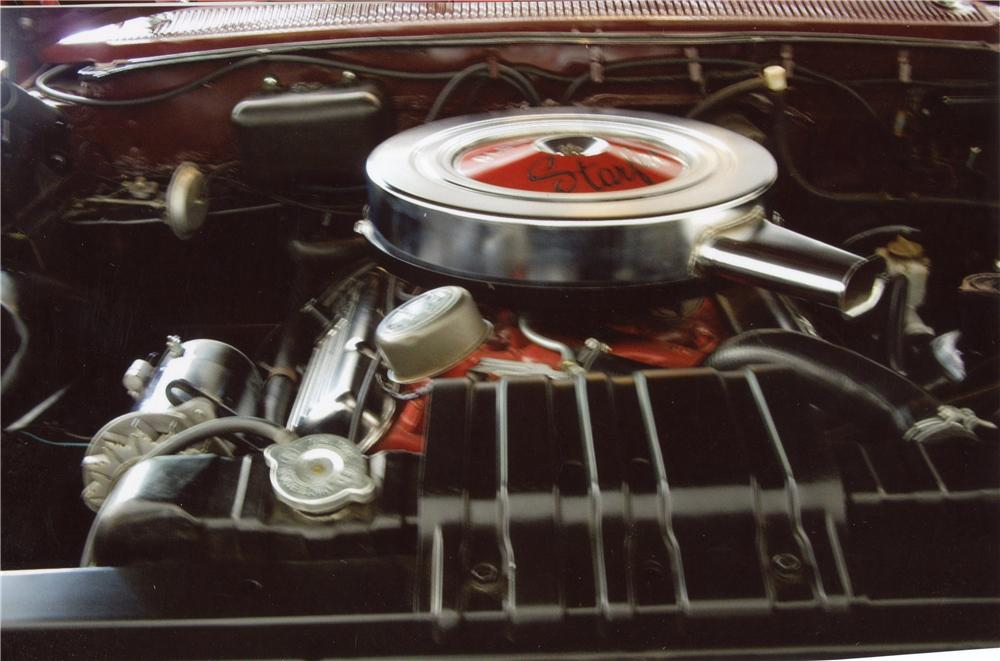 1962 OLDSMOBILE STARFIRE CONVERTIBLE - Engine - 117345