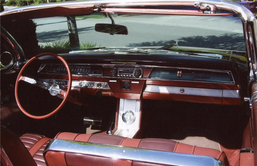 1962 OLDSMOBILE STARFIRE CONVERTIBLE - Interior - 117345