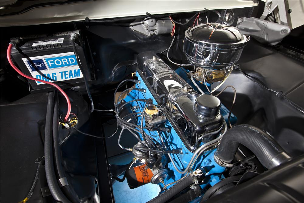 1957 FORD F-100 CUSTOM PICKUP - Engine - 117349