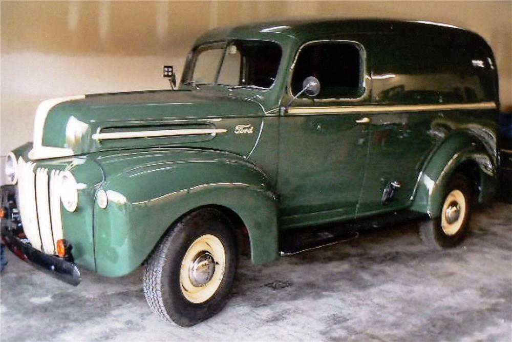 1947 FORD 1/2 TON PANEL TRUCK