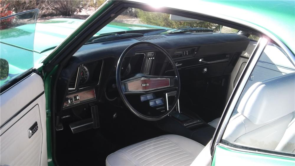 1969 CHEVROLET CAMARO 2 DOOR COUPE - Interior - 117359