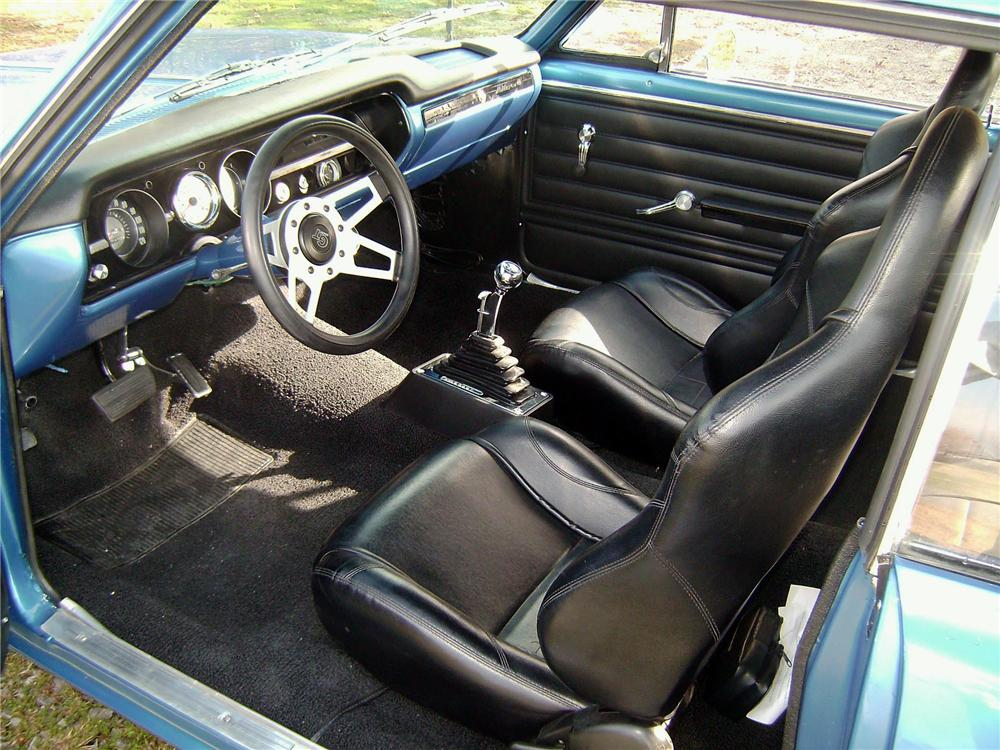 1965 CHEVROLET CHEVELLE CUSTOM 2 DOOR HARDTOP - Interior - 117365