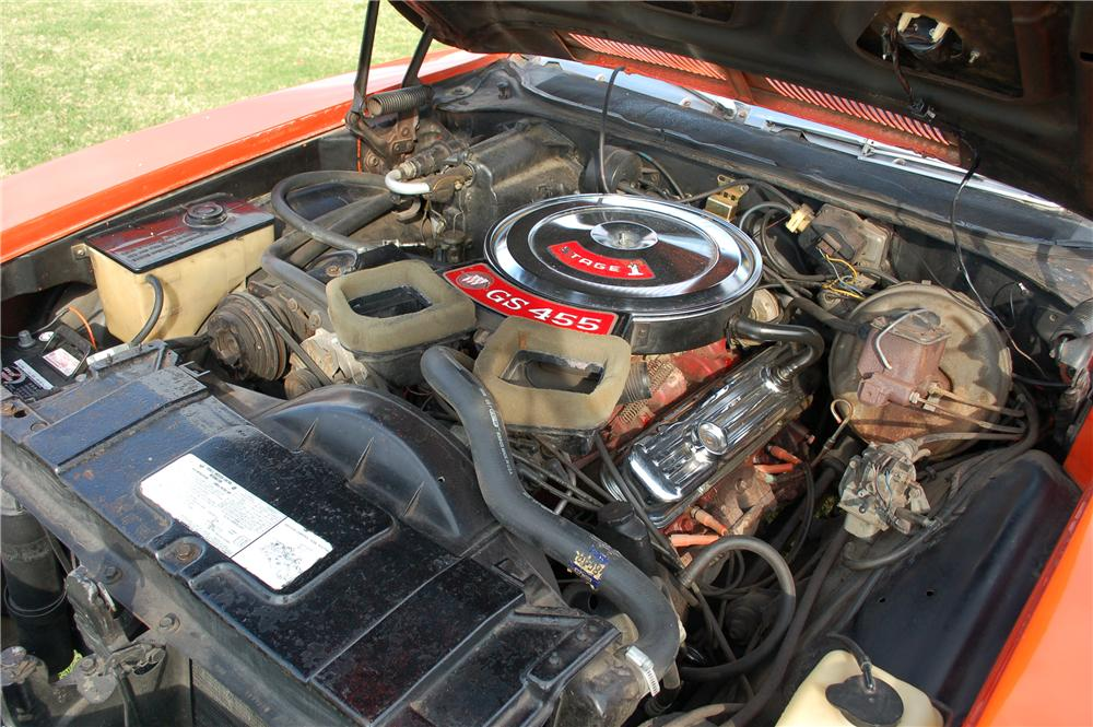 1971 BUICK GS455 CONVERTIBLE - Engine - 117368