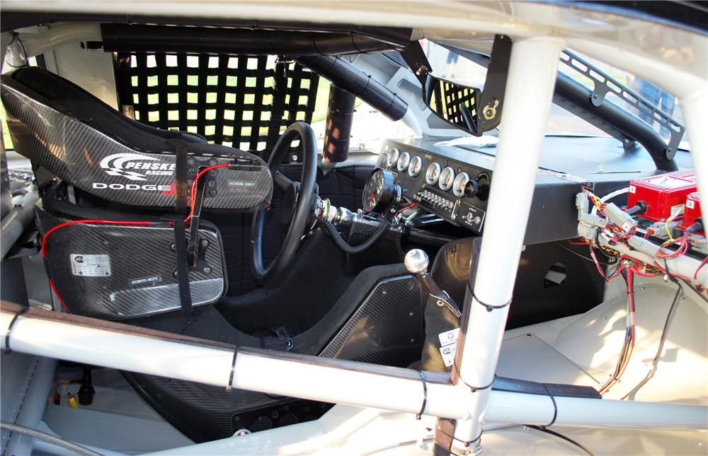 2010 DODGE CHARGER NASCAR NATIONWIDE RACE CAR - Interior - 117371
