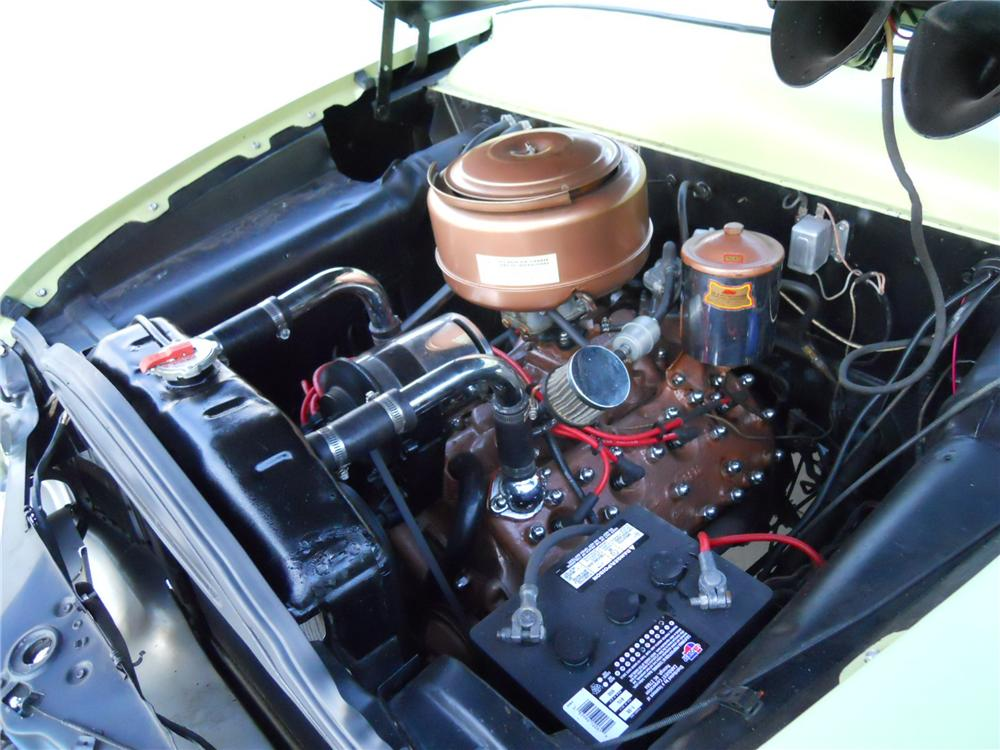 1951 FORD CUSTOM CONVERTIBLE - Engine - 117376