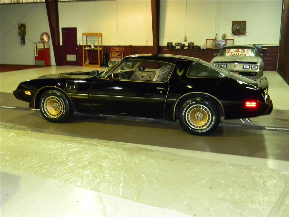 1981 PONTIAC TRANS AM 2 DOOR COUPE - Side Profile - 117383