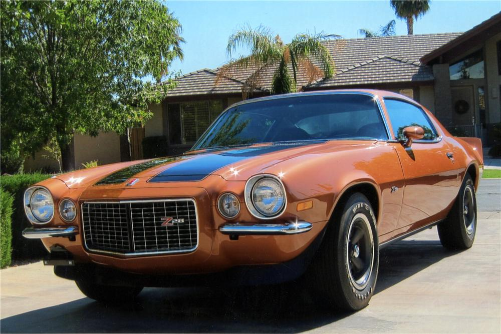 1971 CHEVROLET CAMARO Z/28 RS 2 DOOR COUPE - Front 3/4 - 117384