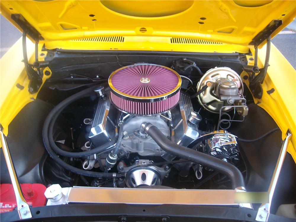 1967 CHEVROLET CAMARO CUSTOM 2 DOOR COUPE - Engine - 117387
