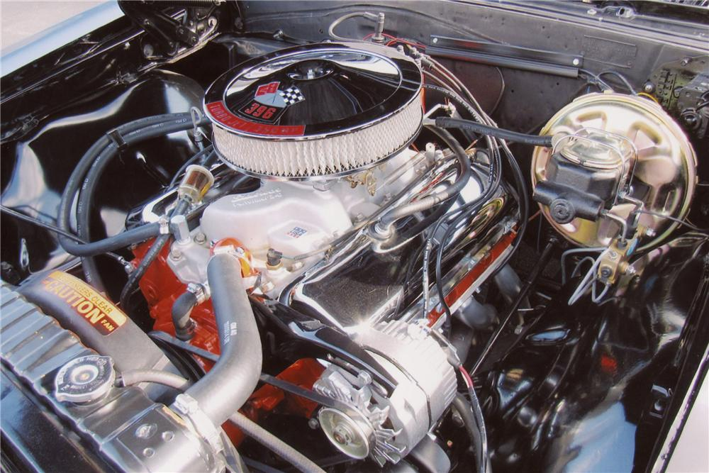 1967 CHEVROLET CHEVELLE SS 396 2 DOOR COUPE - Engine - 117394