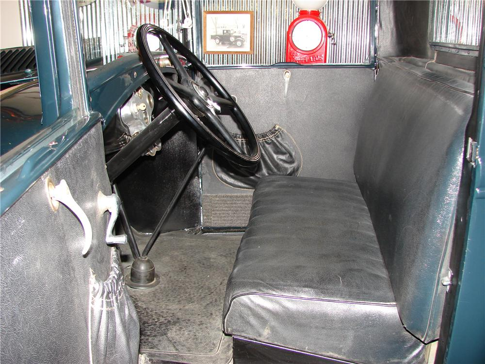 1931 FORD MODEL A PICKUP - Interior - 117401