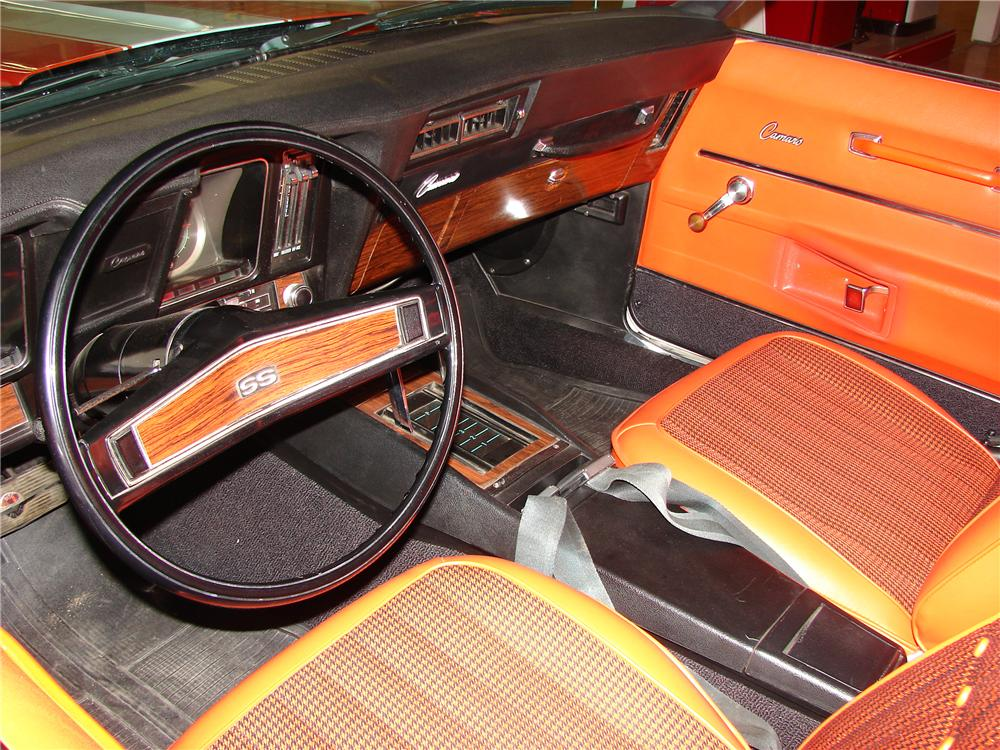 1969 CHEVROLET CAMARO INDY PACE CAR CONVERTIBLE - Interior - 117402