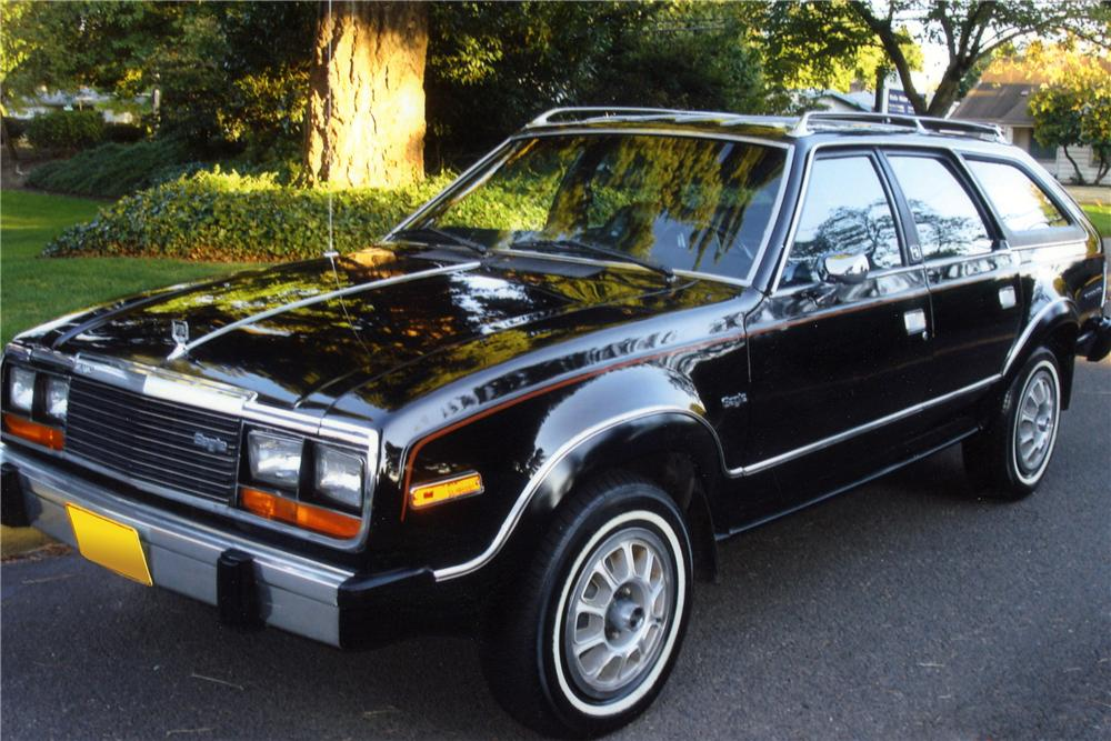 1980 AMC EAGLE 4X4 WAGON - Front 3/4 - 117409