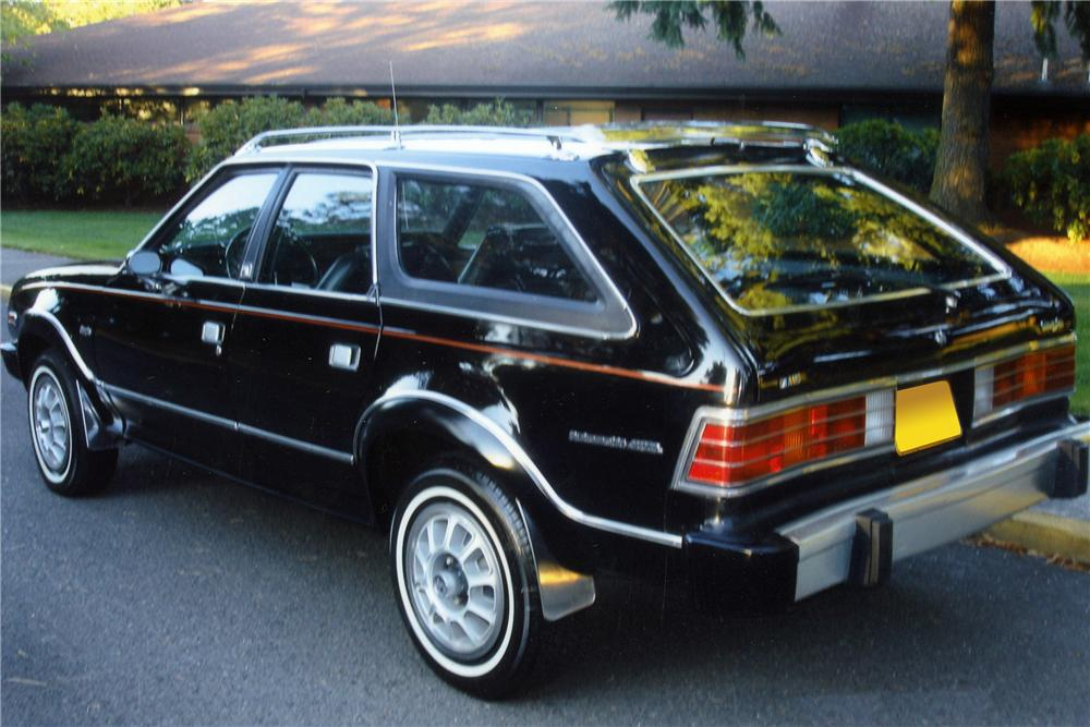 1980 AMC EAGLE 4X4 WAGON - Rear 3/4 - 117409