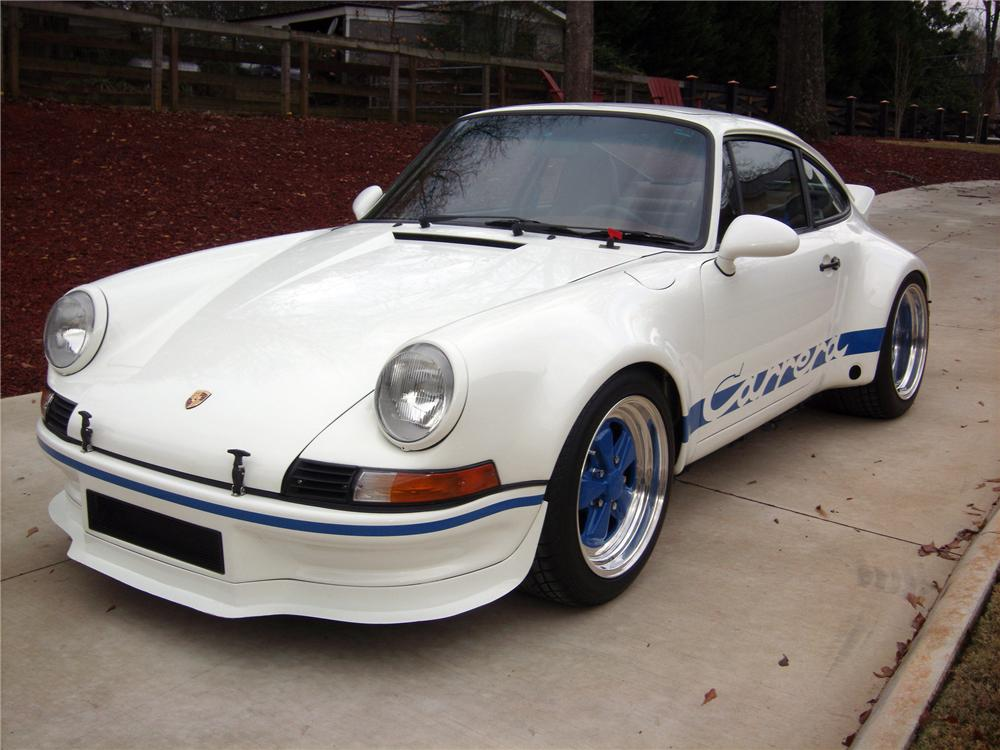 1990 PORSCHE RSR TRIBUTE COUPE - Front 3/4 - 117416