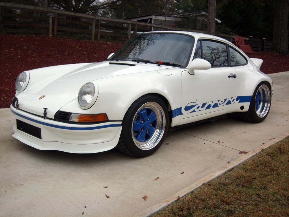 1990 PORSCHE RSR TRIBUTE COUPE - Side Profile - 117416