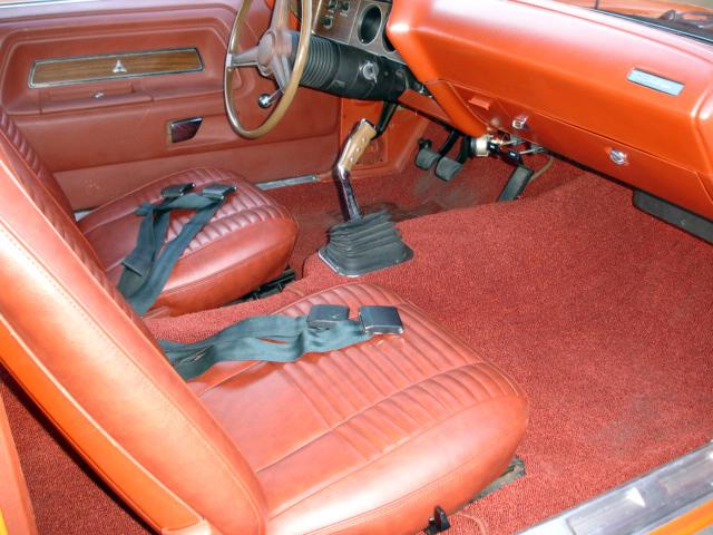 1970 DODGE CHALLENGER COUPE - Interior - 117421