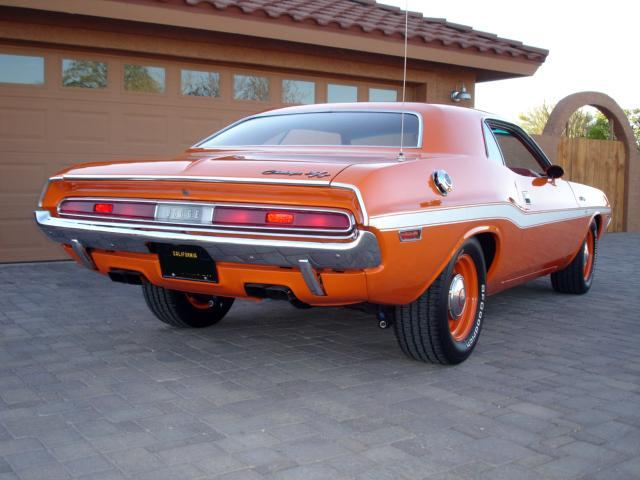 1970 DODGE CHALLENGER COUPE - Rear 3/4 - 117421