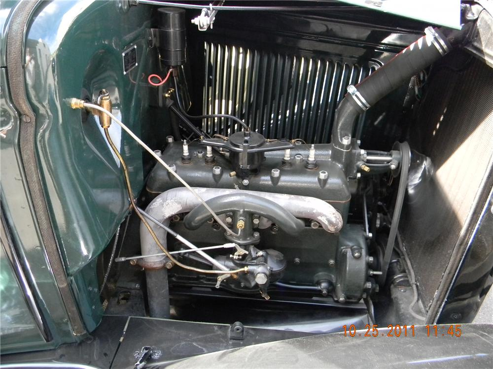 1931 FORD AA 1 1/2 TON FLATBED TRUCK - Engine - 117424