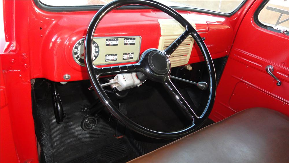 1950 FORD STAKEBED PICKUP - Interior - 117429