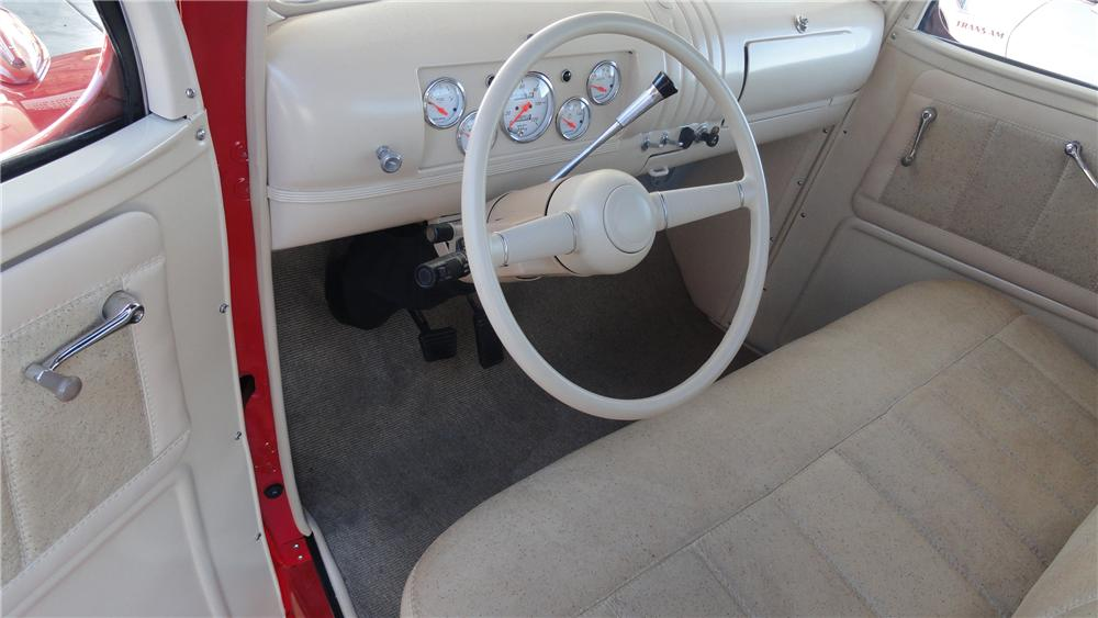 1946 CHEVROLET CUSTOM PICKUP - Interior - 117430