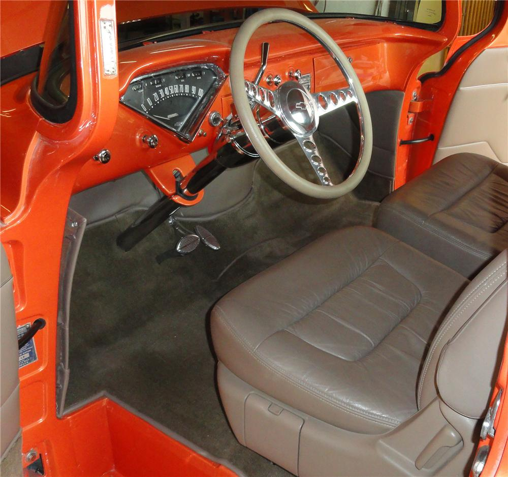 1955 CHEVROLET CUSTOM PICKUP - Interior - 117433