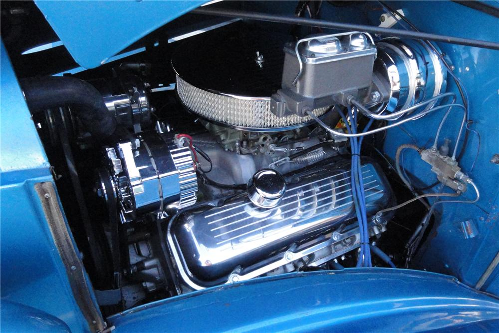 1937 CHEVROLET CUSTOM PICKUP - Engine - 117434