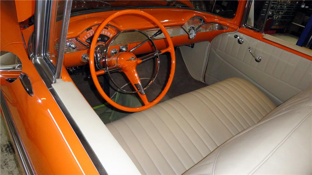 1956 CHEVROLET BEL AIR CUSTOM ROADSTER - Interior - 117436