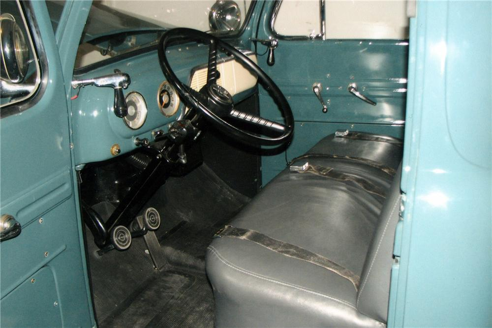 1951 FORD F-1 1/2 TON PICKUP - Interior - 117440