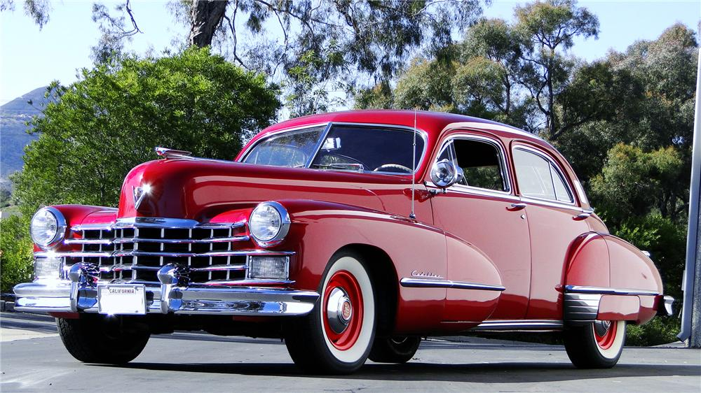 1947 CADILLAC FLEETWOOD 60 SPECIAL 4 DOOR SEDAN - Front 3/4 - 117444