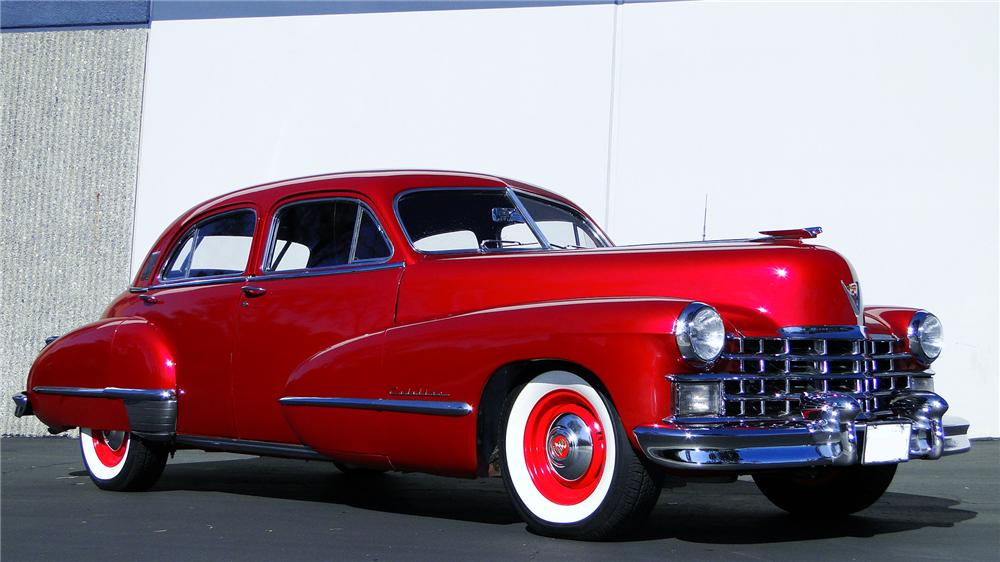 1947 CADILLAC FLEETWOOD 60 SPECIAL 4 DOOR SEDAN - Side Profile - 117444