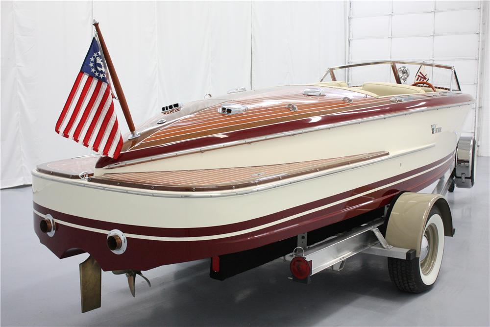 2005 VENTNOR VAGABOND BOAT W/TRAILER - Rear 3/4 - 117451