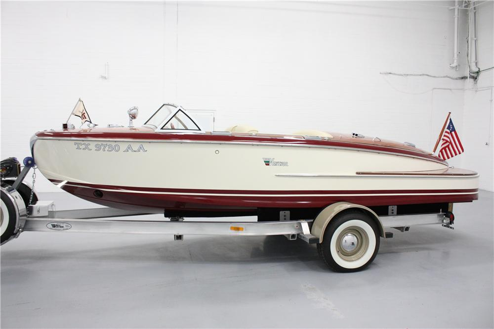 2005 VENTNOR VAGABOND BOAT W/TRAILER - Side Profile - 117451