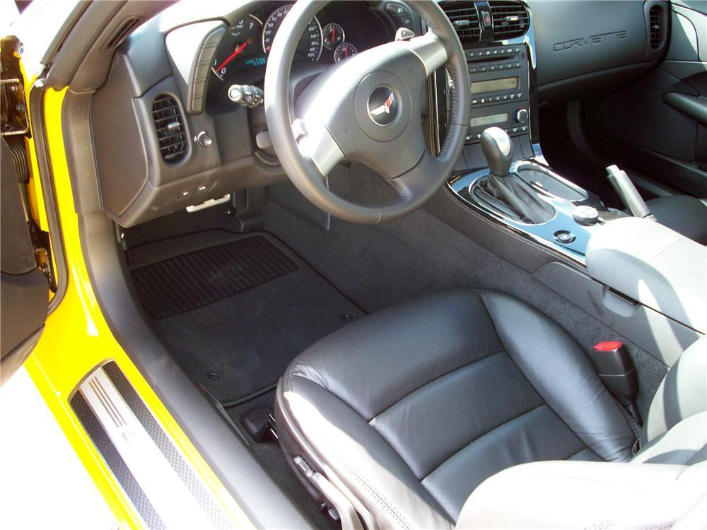 2008 CHEVROLET CORVETTE COUPE - Interior - 117455