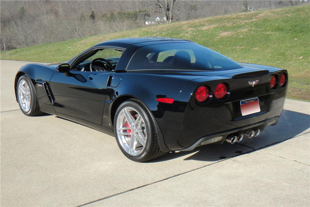 2006 CHEVROLET CORVETTE COUPE - Rear 3/4 - 117456