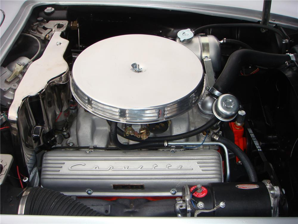 1962 CHEVROLET CORVETTE CONVERTIBLE - Engine - 117457