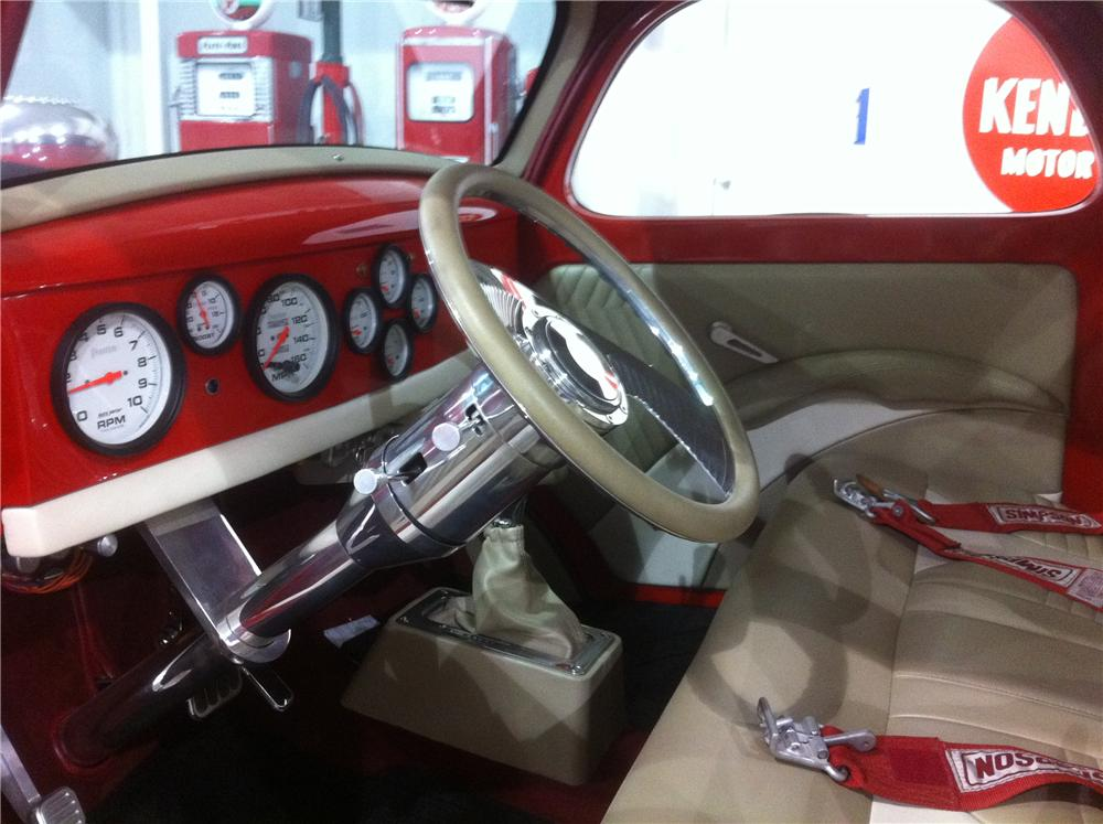 1941 WILLYS CUSTOM 2 DOOR COUPE - Interior - 117458
