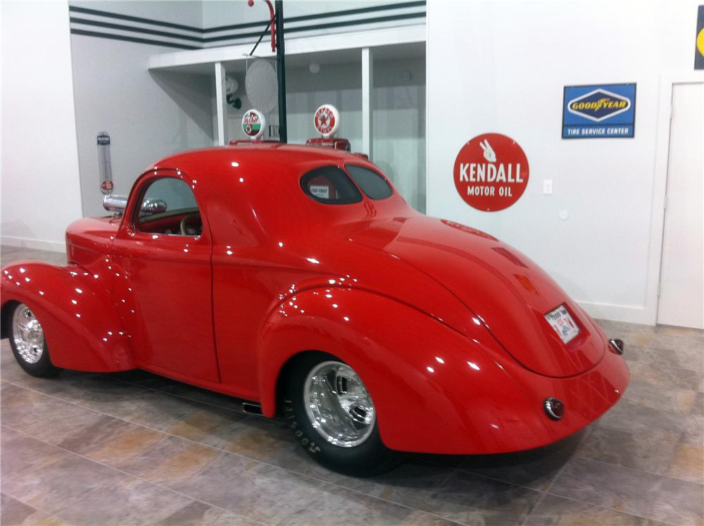 1941 WILLYS CUSTOM 2 DOOR COUPE - Rear 3/4 - 117458