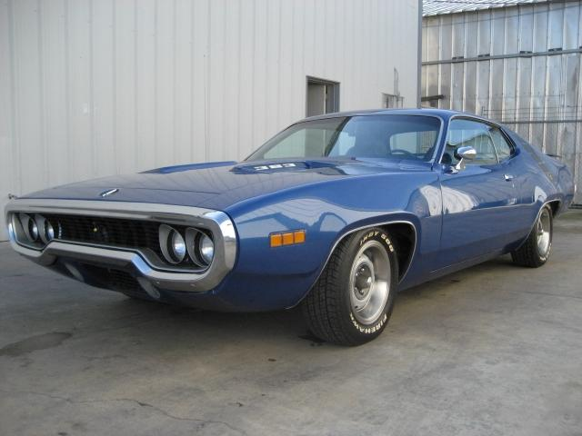 1971 PLYMOUTH ROAD RUNNER 2 DOOR HARDTOP - Front 3/4 - 117459