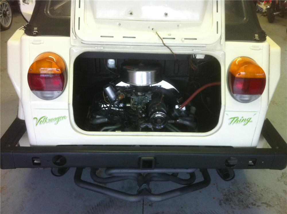 1974 VOLKSWAGEN THING CONVERTIBLE - Engine - 117467