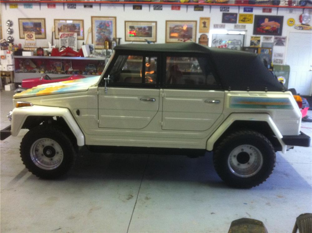 1974 VOLKSWAGEN THING CONVERTIBLE - Front 3/4 - 117467