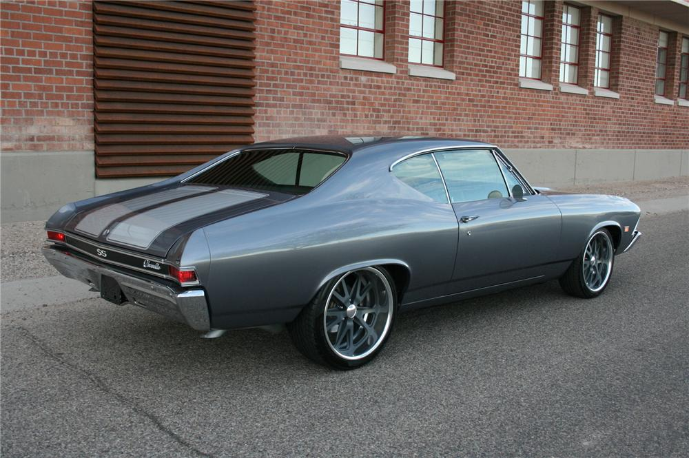1968 Chevrolet Chevelle Custom Coupe 117470