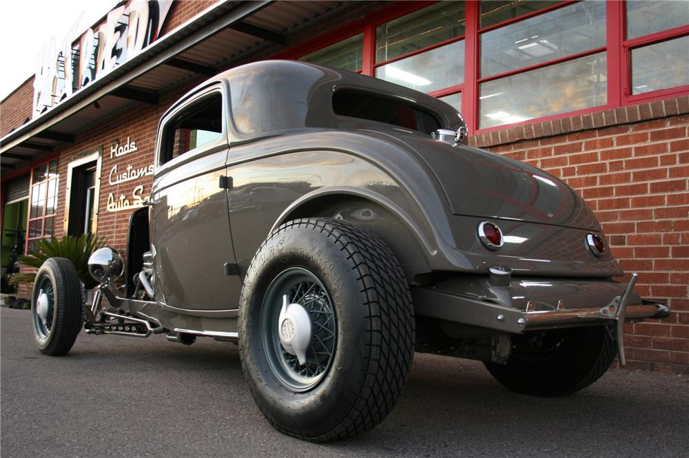1932 ford 3 window custom coupe 117471 for 1932 ford 3 window