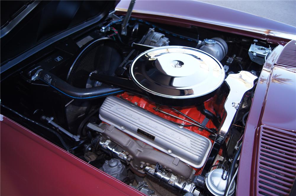 1965 CHEVROLET CORVETTE COUPE - Engine - 117473