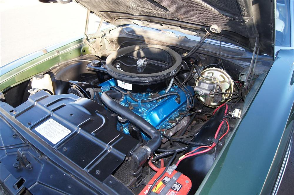 1970 OLDSMOBILE 442 CONVERTIBLE - Engine - 117479