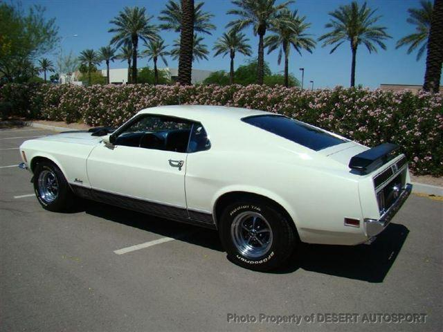 1970 FORD MUSTANG MACH 1 FASTBACK - Rear 3/4 - 117480