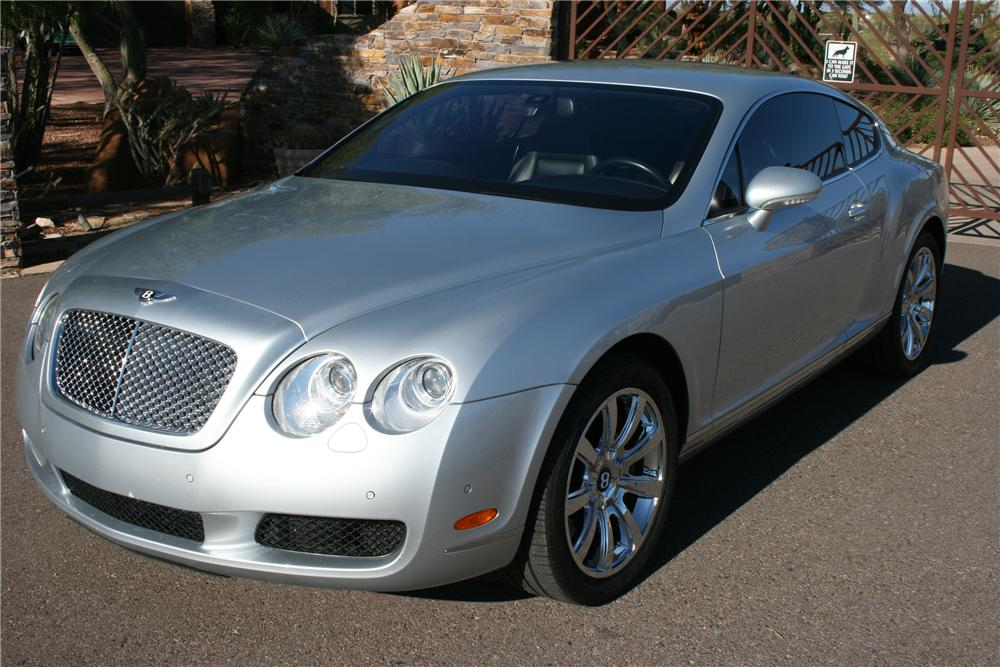 2004 BENTLEY CONTINENTAL GT  - Side Profile - 117484