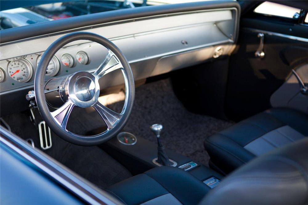 1967 CHEVROLET CHEVELLE SS PRO-TOURING COUPE - Interior - 117487